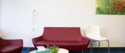Sofaecke in der Palliativstation