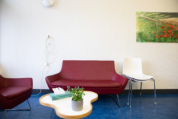 Sofaecke in der Palliativstation