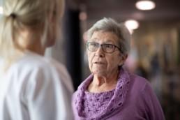 Spitalschwester Verena im Gespräch