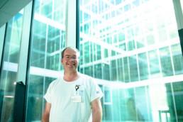Lukas Ebnöther im Neubau