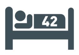 Piktogramm 42 Betten