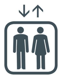 Piktogramm Lift